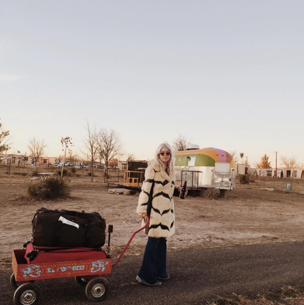 Sometimes you have to pull the wagon and know you're going somewhere good (despite the trailer park.).  Image thanks to @denisebovee