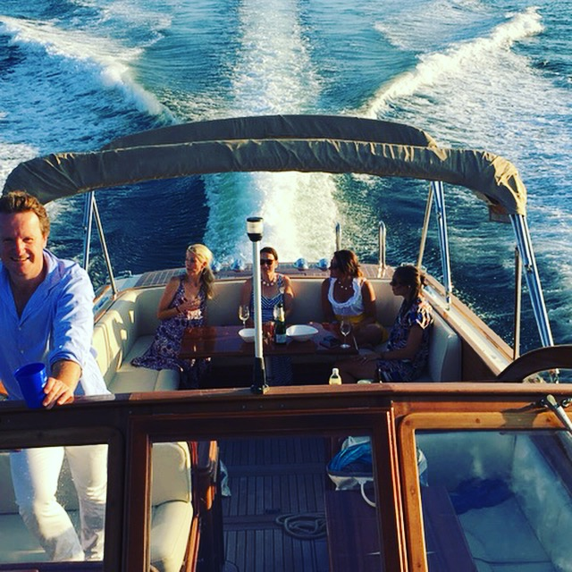 On a ridiculously beautiful boat with ridiculously beautiful people. But that's not what this blog is usually about, if that's okay.